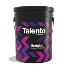 Enduido Interior Exterior Polacrin Talento 4 Lts Premium