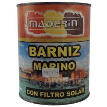 Barniz Marino Con Filtro Solar X1 Lt Brillante Maderin X2u