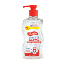 ALCOHOL EN GEL SANITIZADOR ULTRA ANTISÉPTICO ALGABO 500ML