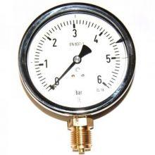 Manómetro Presión Acetileno 6 Bar Ø 50 Mm