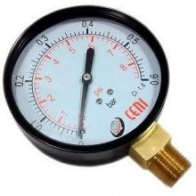 Manómetro Para Gasistas. Prueba De Instalación 100 Mm Metal