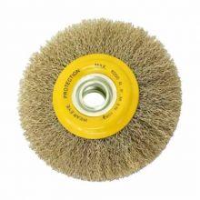 Cepillo Circular Acero Ondulado 175mm X 25mm Mota