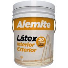 Pintura Latex Interior Exterior Alemite Polacrin 20lts
